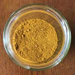 Yellow powder representing Drilizen ingredient of Volume Pills